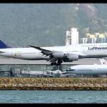 B747-8i | Lufthansa | 1,500th Boeing 747 | D-ABYP | HKG thumbnail
