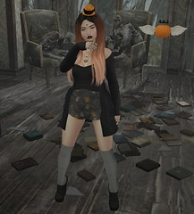 LAZYBONES, ChicModa, e marie + Freebie! (hump muffin) Tags: blog blogger collabor88 events fameshed fashion blogging free freebies gifts girl power hunts panic pumpkin okinawa trick or treat lane catwa chicmoda demon spit disorderly e marie elise friday halloween hunt lazybones michan pink fuel runaway s0ng sakupose kero unicult voodoo moon clan second life hump muffin sl cute avatar clothes virtual world female girly hair skin secondlife 2ndlife 3d outfit look lotd