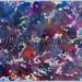 """""""Glittery Mess"""" by DO, mixed media, $45.00"""