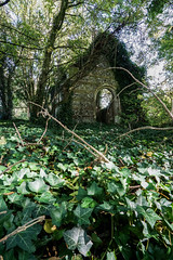 once I was a church (SCRIBE photography) Tags: uk england dorset overgrown creepy eerie spooky forgotten abandoned derelict decay church chapel