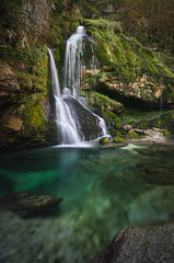 Slap Virje Waterfall Slovenia (Russell Eck) Tags: slap virje waterfall slovenia water emerald green lush nature landscape russell eck europe travel wilderness