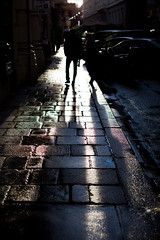 walking on pavement.. (paul.wienerroither) Tags: pavement shadows light lightanddark streets streetphotography vienna austria home rainy photography canon 50mm 5dmk3 people perspective peoplephotography walking 1stdistrict focus snapshot
