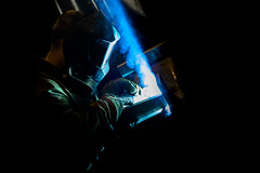 Hegesztő (csoszgabor) Tags: bridgepreferenceslabelgreenapproved welder welding industrial ipari fotó