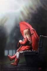 Waiting For The Rain By Ivan Pili, Oil Painting (katalaynet) Tags: follow happy me fun photooftheday beautiful love friends