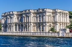 08082011-IMGP0921 (Mario Lazzarini.) Tags: palazzo elegante finestre colonne archi reggia bosforo istanbul turchia turkey historic old architettura
