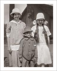 Portraits 100-09 (Steve Given) Tags: familyhistory socialhistory kids children girls group