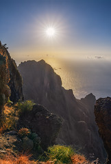 Arure La Gomera (Red Gecko Photography) Tags: landscape canary islands lagomera sundown colors atlantic