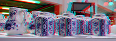 Blueware  De Porceleyne Fles Delft 3D (wim hoppenbrouwers) Tags: blueware deporceleynefles delft 3d anaglyph stereo redcyan
