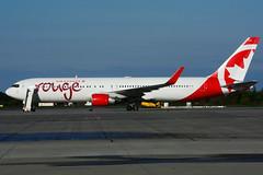C-FMWQ (Air Canada - rouge) (Steelhead 2010) Tags: aircanada rouge boeing b767 b767300er yhm creg cfmwq