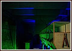 In the underground - Im Untergrund (rasafo66) Tags: duisburg lapadu landschaftsparkduisburg landschaftsparknord industriekulur industrie industrialphotography deutschland nrw nordrheinwestfalen germany sonyalpha58 tamron1750