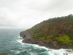 Rainy Coast (xythian) Tags: hi kauai kilaueapoint