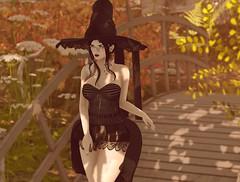 Plant Life #191 (Avery der Rabe) Tags: spookzilla hunt witch momoko trickortreatlane zoom secondlife staticrosemary blog