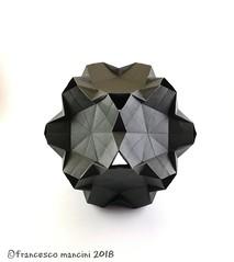 Chimneys var (mancinerie) Tags: origami modularorigami paperfolding papiroflexia papierfalten pentagon francescomancini mancinerie dodecahedron