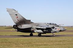 """Panavia Tornado GR4 ZA607/EB-X """"FANG 01"""" - Royal Air Force - RAF Marham, October 2018 (StrikeEagle492) Tags: panaviatornado tornadogr4 gr4 tonka raf royalairforce marham rafmarham norfolk kingslynn canoneos50d canonef70300mmlis za607"""