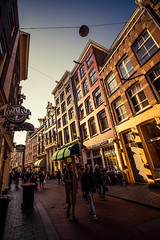 P2182800-2 (rpajrpaj) Tags: amsterdam streets canals netherlands city cityscape sunset