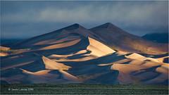 Great Sand Dunes NP (Sandra Lipproß) Tags: colorado usa landscape sanddunes nationalpark greatsanddunes sunrise