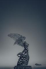 Angel wings (Zsirka Richárd) Tags: fujifilm x100f italy sicily giardininaxos statue
