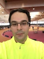 Hallenmarathon Geisingen 2018 (5 Kilometer Lauf) (Loeffle) Tags: 022018 germany allemagne deutschland baden geisingen hallenmarathon wettkampf race run 5kilometerlauf halle indoors lauf running laufen me