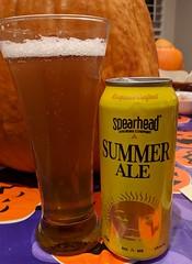 mmmm.....beer (jmaxtours) Tags: mmmmbeer summerale spearheadbrewingco kingstonontario kingston ontario spearheadbrewing ale beer