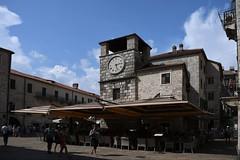 Kotor, Uhrturm (1602) am Waffenplatz