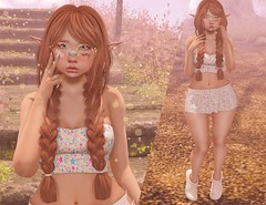 ♡ Bright Stars ♡ (Lili [My Fashionista Heart]) Tags: catwa okkbye song limerence harajuku blush avoixs ascendant epoch reign candycrunchers kiokio bubble swallow cute kawaii myfashionistaheart events notddlg whimsical bloggers blogger secondlife