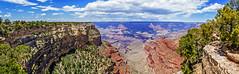Panoramic: Desert View Drive (mon_ster67) Tags: grandcanyon panoramic panorama southrim mon ©mon canon sigma desertviewdrive canyon nationalpark grandcanyonnationalpark coloradoriver arizona