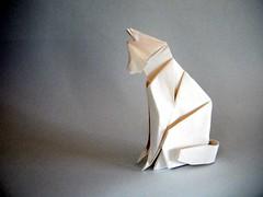 Cat - Jeong Jaeil (Rui.Roda) Tags: origami papiroflexia papierfalten chat gato katz cat jeong jaeil