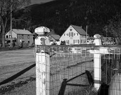Happy Fence Friday! (repete7) Tags: silverton colorado unitedstates us hff fence happyfencefriday bw blackandwhite canon canoneosm100