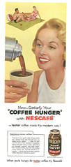 1955 Ad, Nescafe Instant Coffee, Tippi Hedren as Pretty Housewife (classic_film) Tags: 1955 1950s fifties ad advert advertising advertisement ads añejo alt american america anuncio anzeige retro revista reklame época ephemeral vintage old magazine printad publicidad publicité usa unitedstates coffee drink beverage woman housewife mujer mujerbonita pretty prettygirl girl niñabonita nostalgia nostalgic classic clásico commercialism consumerism color tippihedren model actress