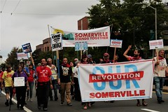 Somerville Stands Together (Glass Wheels) Tags: honk honkfest honk2018 cambridge cambridgemassachusetts cambridgema somerville festival street