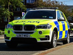 BMW X5 Police Demonstrator (Armed Response Vehicle), LD67 NSZ, Birmingham City Centre. (Vinnyman1) Tags: west midlands police armed response vehicle bmw x5 demonstrator ld67 nsz birmingham arv firearms afo authorised officer emergency services service rescue 999 england uk united kingdom gb great britain operation pelkin prime minister conservative party conference tory tories 2018