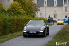 20181007 - Porsche 911 (997-2) Carrera 4S 385cv - N(2669) - CARS AND COFFEE CENTRE - Chateau de Longue Plaine (laurent lhermet) Tags: carreras carrera carrera4s chateaudelongueplaine domainedelongueplaine nikkor18105 nikond5500 porsche911carrera porsche porsche911 nikon porsche9972