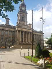 A photo of the Bolton Court (DPP Law) Tags: bolton uk city street history leaves scenic old building people autumn law legal court prison laywer barrister local courts council meeting historical architecture north west manchester