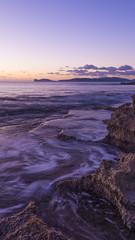 Tramonto sugli scogli (AraAlessio) Tags: alghero sassari sardegna sardinia italia italy sunset sundown seascape seashore seaside sea sky clouds tramonto mare paesaggio landscape nature natura