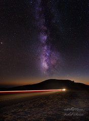 On the road again... (vahidss9) Tags: nightshot milkyway stars sky road roadtrip vahidsamie vssphotocom nikond810 fineartphotography travelphotography monterey california