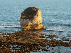 Freshwater Bay Sunset-EA090456 (tony.rummery) Tags: em10 england eveningsun freshwaterbay iow isleofwight landscape mft microfourthirds omd olympus seascape stack freshwater unitedkingdom gb