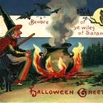 Halloween - Satan, 1909 thumbnail
