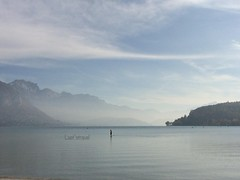 Lac d Annecy (laet'stravel) Tags: winter hiver nature solitude seul alone aloneness lake lav france