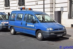Gendarmerie Nationale (rescue3000) Tags: peugeot expert gendarmerie nationale national véhicule liaison vehicle connection voiture army armée militaire military durisotti