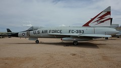 Convair F-102A-75-CO Delta Dagger 56-1393 in Tucson (J.Comstedt) Tags: aircraft flight aviation air aeroplane museum airplane us usa planes pima space tucson az convair f102 delta dagger usaf 561393
