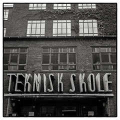 They just don't make signs like this anymore… (K.Pihl) Tags: building hc110b typography blackwhite schwarzweiss film rolleiflex35e kodaktrix400800 kodaktrix400 monochrome copenhagen architecture pellicolaanalogica denmark bw pushed analog sign