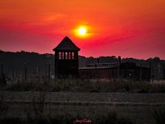 ~Auschwitz Sunset~ (JERRY TAHA PHOTOGRAPHY) Tags: travel traveling traveler travelling traveller world worldtravel wwii jerrytahatravel auschwitz poland war deathcamp concentrationcamp polska