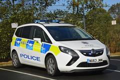 NU63 JWM (S11 AUN) Tags: cleveland police vauxhall zafira tourer dog section policedogs dogsupportunit dsu response van nu63jwm