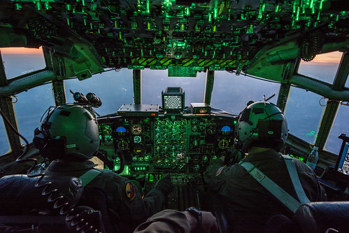 Flying a C-130