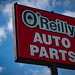 O'Reilly Auto Parts - Store Sign