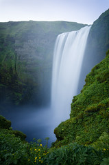 Iceland (Yann OG) Tags: iceland icelandic islande islandais ísland waterfall cascade skógafoss skógár longexposure poselongue paysage landscape