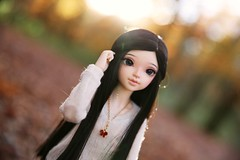 Autumn Sun ♥ (SunShineRu) Tags: minifee mnf sarang sarang14 14 2014 chou slim msd fairyland bjd ball jointed doll dolls autumn fall sunlight