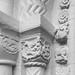 Iffley church detail