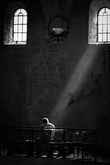 Guardian Angel (Chiaro Chiari) Tags: brescia monocromo light ray luce raggio ghost fantasma spirit spirito holy santo religio religione preghiera pray bn bw blackwhite cathedral cattedrale duomo chiesa church italy italia