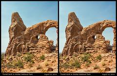 3D-Arches-47 (stereo_eyz) Tags: 3d arches nationalpark turretarch utah rock sandstone landscape desert